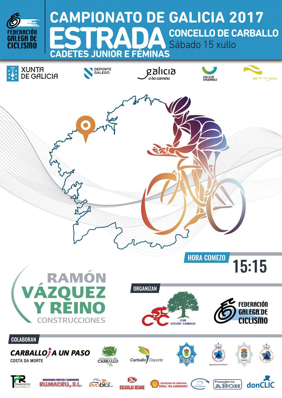 Campionatos Galegos de Estrada 2017 – Carballo